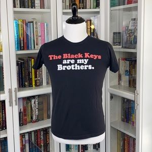 The Black Keys Are My Brothers Black Graphic Tee